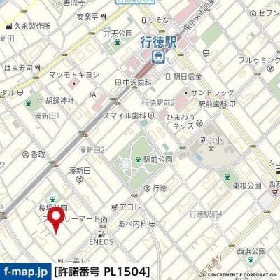 【地図】シティクレスト壱番館