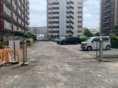 敷地内駐車スペースです。