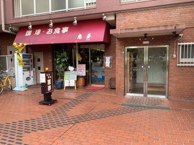 喫茶店もあります。