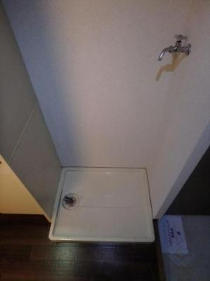 室内洗濯パンももちろん完備してます!!