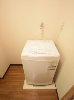 エスペランサ谷町 室内洗濯機置場