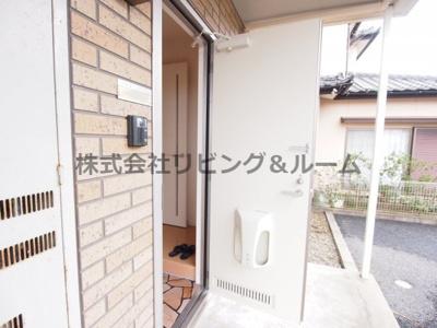 【玄関】パークヒル・B棟
