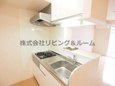 【キッチン】パークヒル・B棟