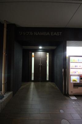 【エントランス】リップル NAMBA EAST