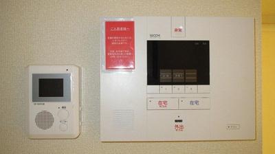 SECOM モニター付きインターホン