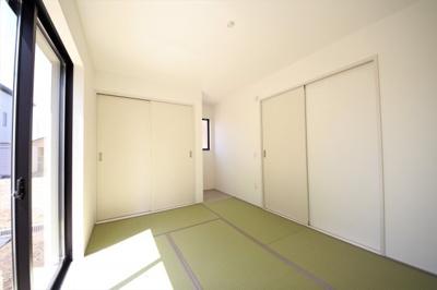 1号棟 落ち着いた雰囲気の和室付きです