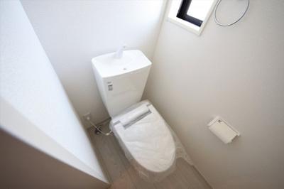 1号棟 清潔感のあるトイレです