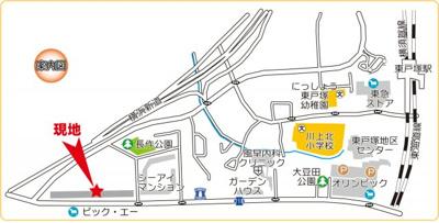 【地図】ニューシティ光の街