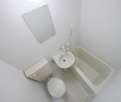 【浴室】ドミール六番館