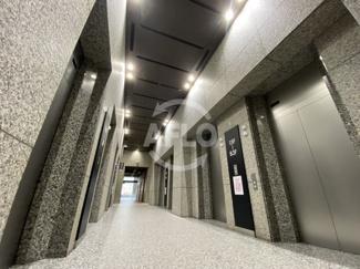 大阪中之島ビル エレベーターホール