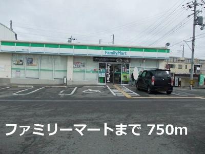 ファミリーマート柳屋白水東店まで750m
