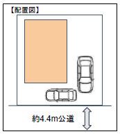 【区画図】我孫子市青山台4丁目 新築戸建