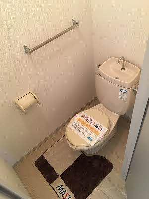 【トイレ】メゾントランキル B棟