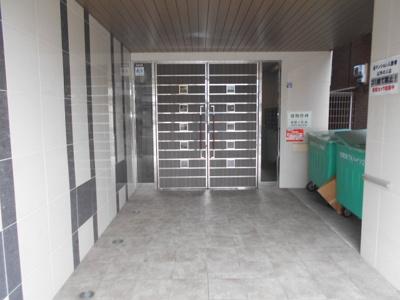 【エントランス】宿院西TKハイツ2号館
