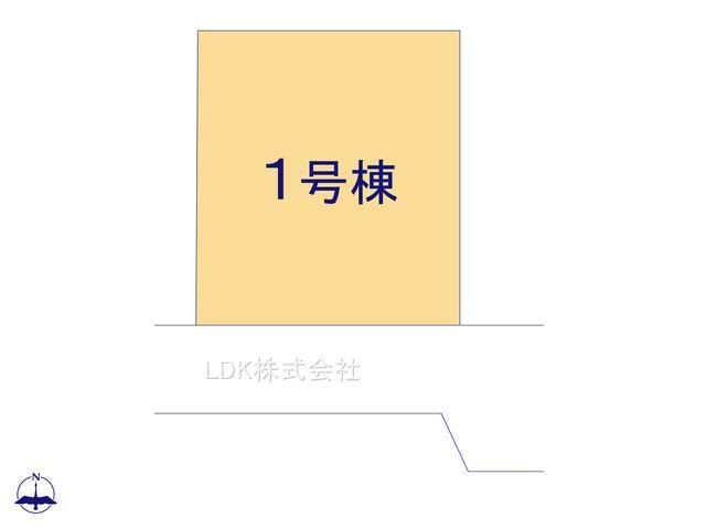 【区画図】新築戸建/富士見市渡戸1丁目(全1棟)