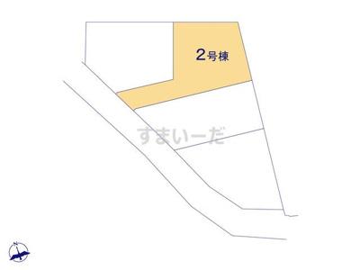 【区画図】クレイドルガーデン交野市倉治第24