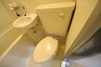 【トイレ】アパートメント大阪谷町