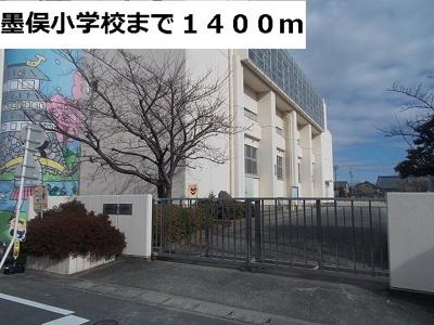 墨俣小学校まで1400m