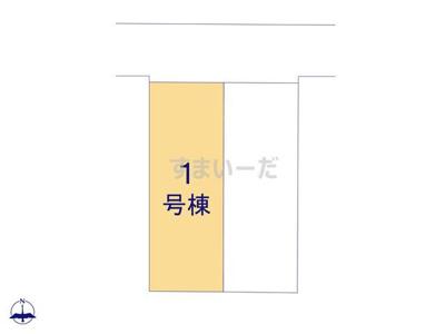 【区画図】クレイドルガーデン八尾市東山本町第1