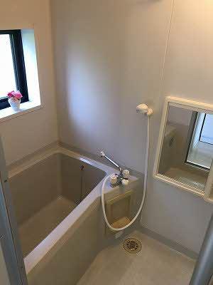 【浴室】クレセント・トウヨウ A棟