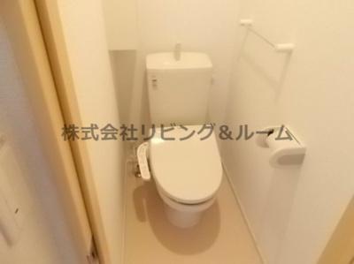 【トイレ】エレガンテ・Ⅲ棟
