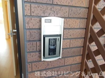 【セキュリティ】エレガンテ・Ⅲ棟
