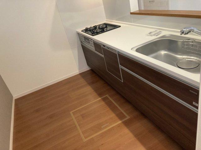 【キッチン】デザイン住宅「FIT」南大橋2丁目4期2号棟 4LDK