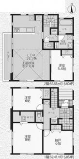 【間取り】茅ヶ崎市中島3期 新築戸建 全3棟1号棟