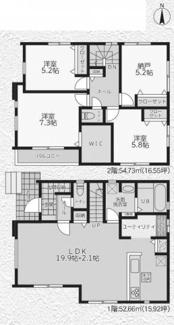 【間取り】茅ヶ崎市中島3期 新築戸建 全3棟3号棟
