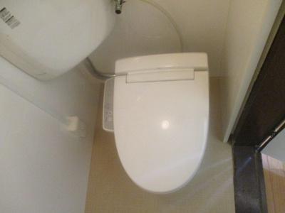 【トイレ】コーポラスローザ