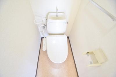 【トイレ】カーサフィオーレ弐番館