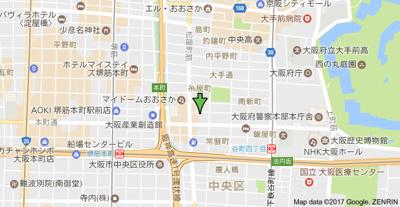 【地図】エスライズ東本町