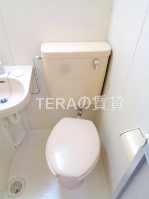 【トイレ】江古田ホワイトハイツ