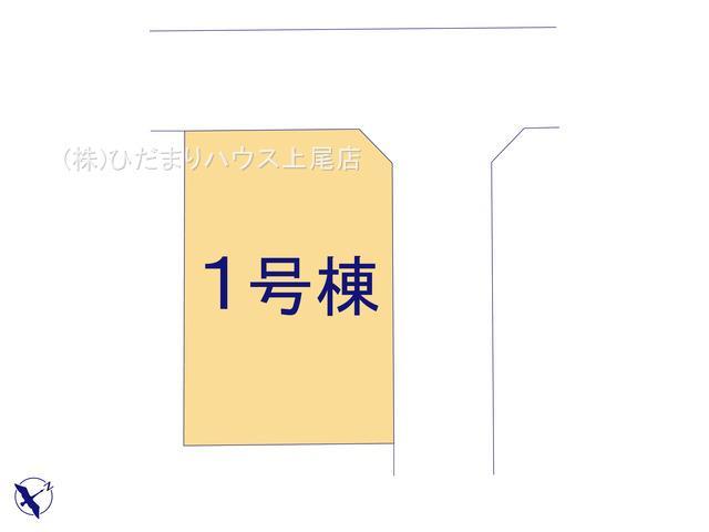 【区画図】桶川市朝日 第6 新築一戸建て ハートフルタウン 01