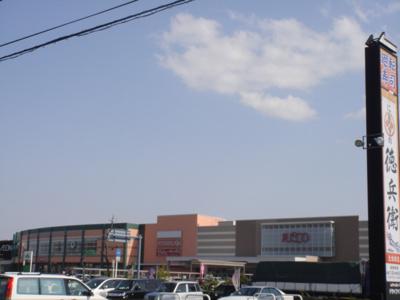 イオンショッピングセンターまで2,450m