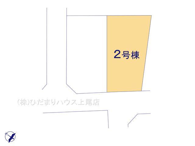 【区画図】北本市緑4丁目 新築一戸建て ハートフルタウン 02
