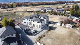 甲斐市西八幡 新築戸建全4棟 2号棟 敷地面積219.36平米 建物面積95.57平米