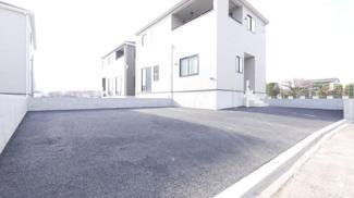 【外観】甲斐市西八幡 新築戸建全4棟 2号棟 4LDK 駐車並列3台可能