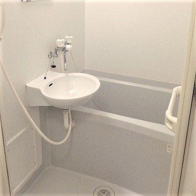 【浴室】レオパレスグランデーム幕張