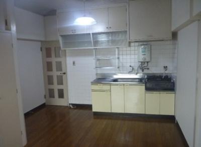 【キッチン】高田馬場住宅