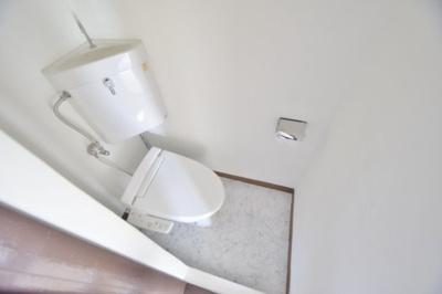 【トイレ】旭ヶ丘コーポラス 西棟