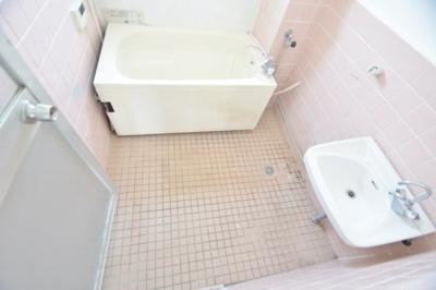 【浴室】旭ヶ丘コーポラス 西棟
