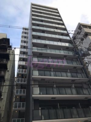 14階建ての外観