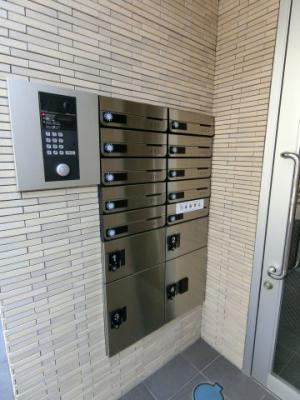 集合ポスト&宅配ボックス