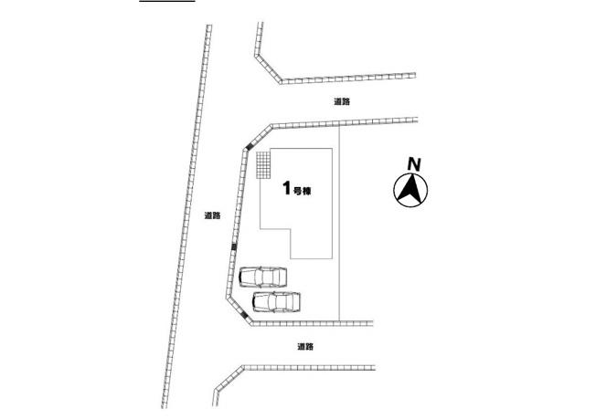 【区画図】東村山市秋津町5丁目 新築戸建