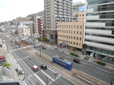 【展望】LA MAISON長崎駅東通り