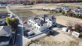 甲斐市西八幡 新築戸建全4棟 4号棟 南東角地 車4台並列駐車可能の画像