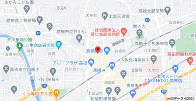 【地図】西形ビル