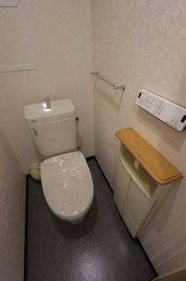 シンプルで使いやすいトイレです:リフォーム完了しました♪平日も内覧出来ます♪