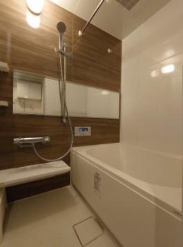 ルミネ尾山台のお風呂です。